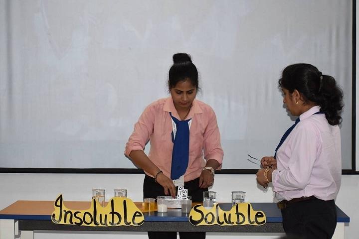 Prayaag International school-Science Experiment