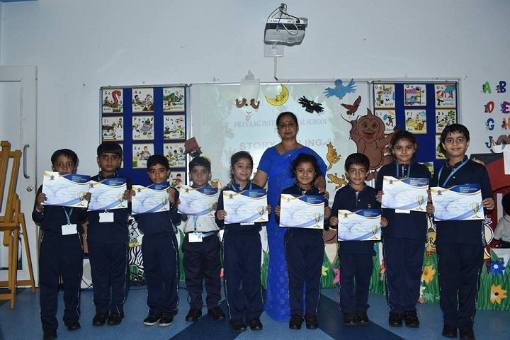 Prayaag International school-Story Telling Competition