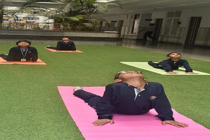 Prayaag International school-Yoga