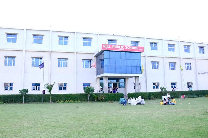 R J L Public School-Building