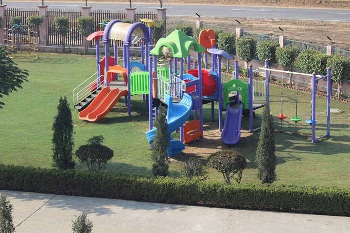 R E D School Charkhi-Kindergarten Play Ground