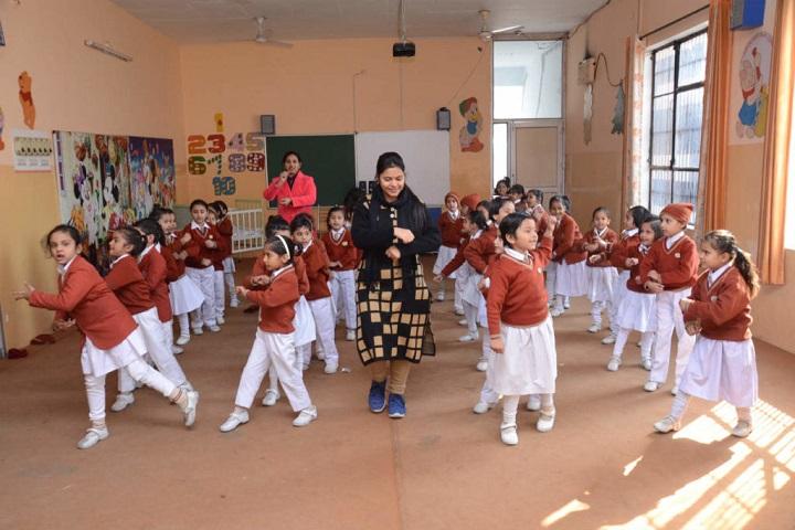 R K S D Public School-Dance Room