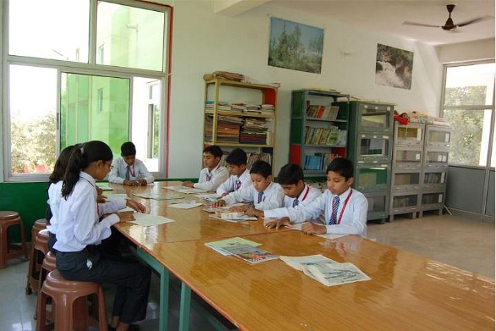 Rajwanshi Senior Secondary School-Library
