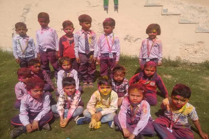 Ram Krishan Public School-Holi