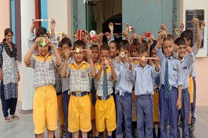 Ram Krishan Public School-Rakhi Activity