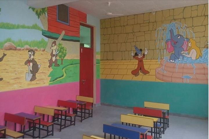 Rama and Krishna Public School-Kindergardent Class Room