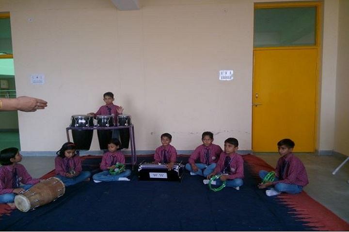 Rama and Krishna Public School-Music Room