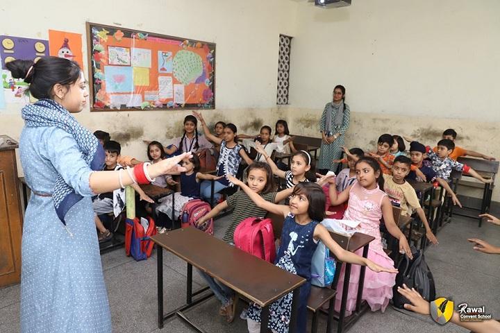 Rawal Convent School-Classroom
