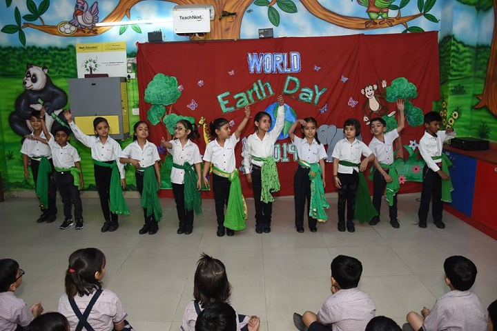 Rawal Convent School-Earth Day