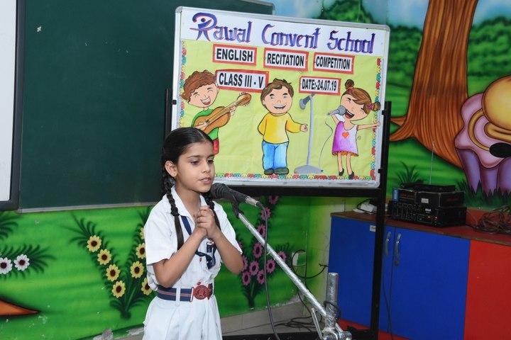 Rawal Convent School-Story telling