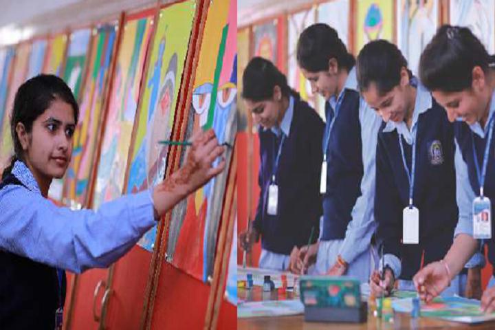 S D Adarsh Public School-Art