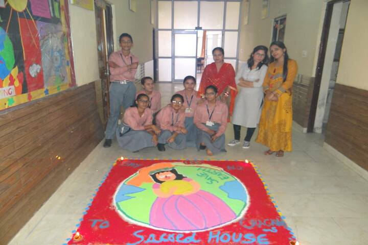 SDM Public School-Rangoli Competition
