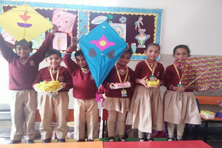 S D Model Senior Secondary School-Basant Panchami