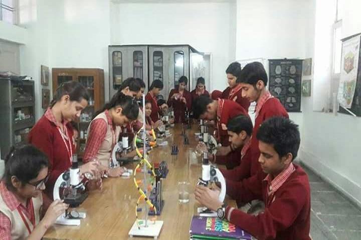 S D Model Senior Secondary School-Science lab