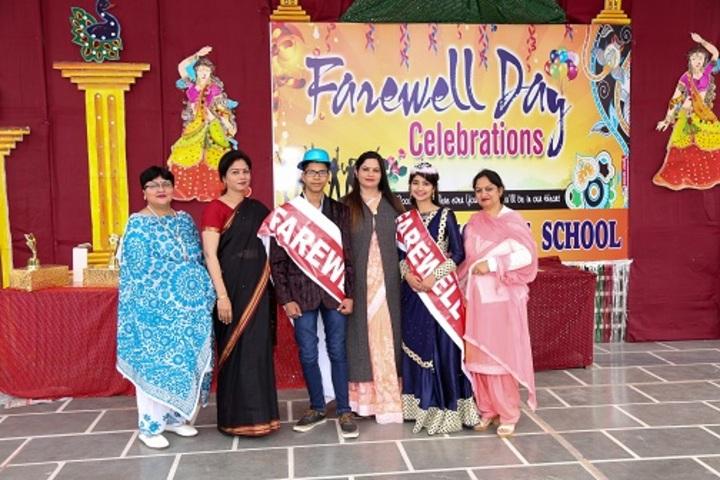 S D Model Senior Secondary School-Farewell Day