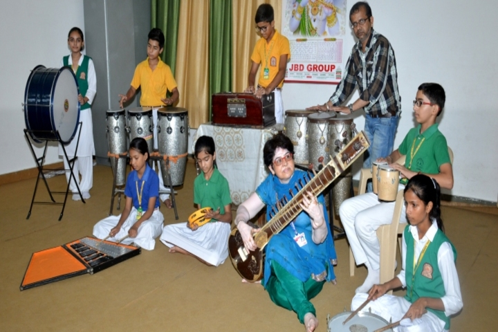 S D Model Senior Secondary School-Music Room