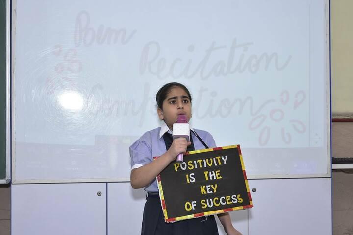 SD Vidya Mandir-Poem Recitation Competition
