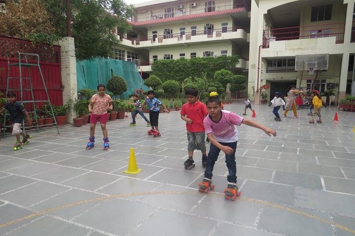 SD Vidya Mandir-Scating Activity