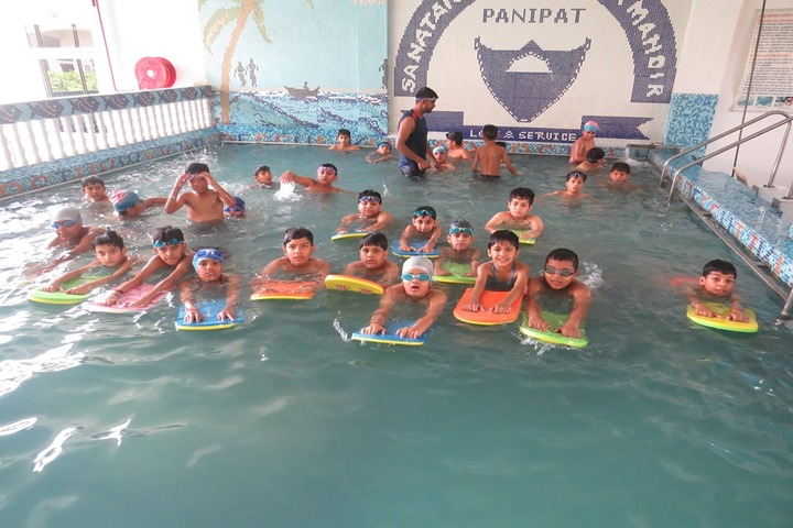 SD Vidya Mandir-Swimming Pool