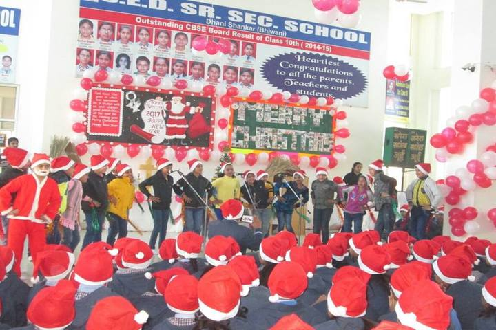 S E D Senior secondary School-Christmas Celebrations