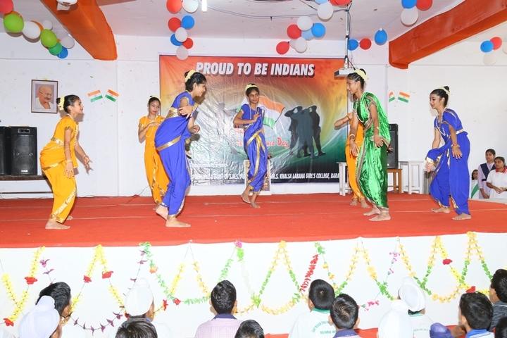 S M S Public School-Dancing Activity