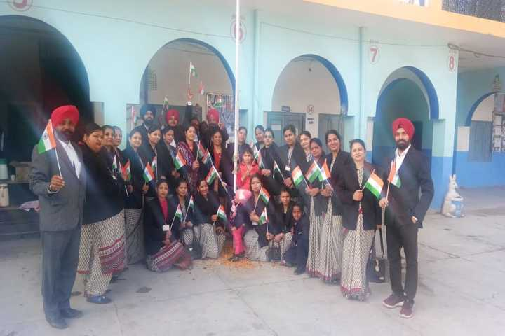 S M S Public School-Independence Day