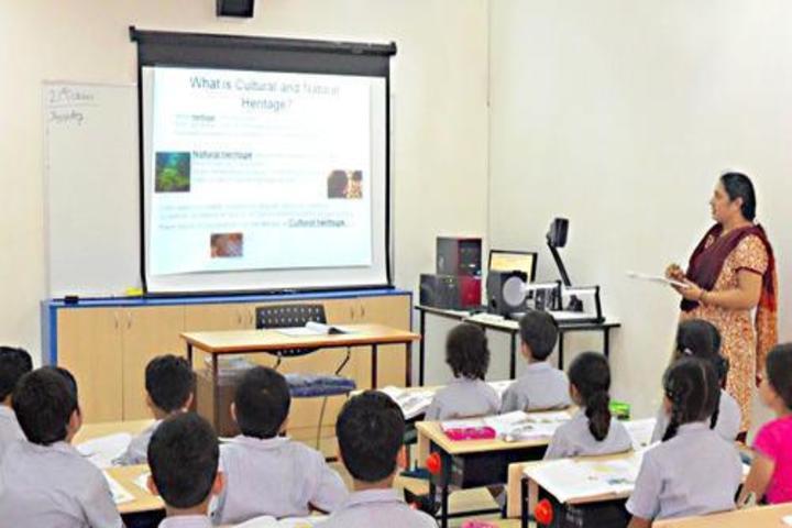 S M S Public School-Smart Classroom