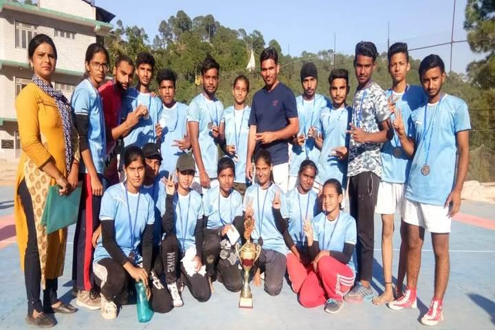 S M S Public School-Sports