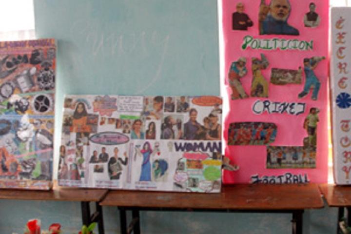 S P S Convent School-Art