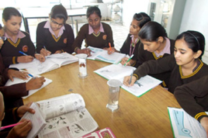 S P S Convent School-Library