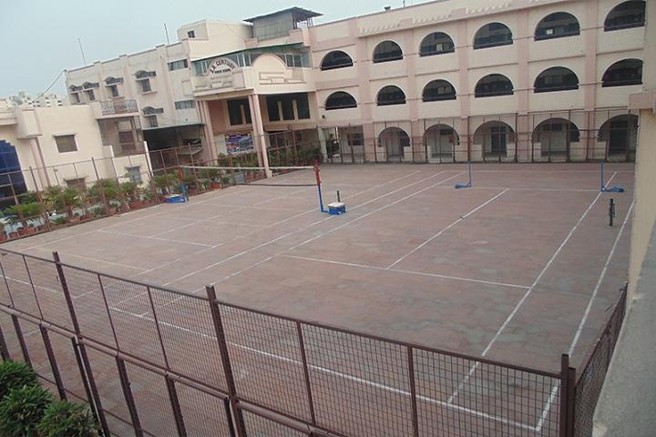 S R Century Public School-Sports Area