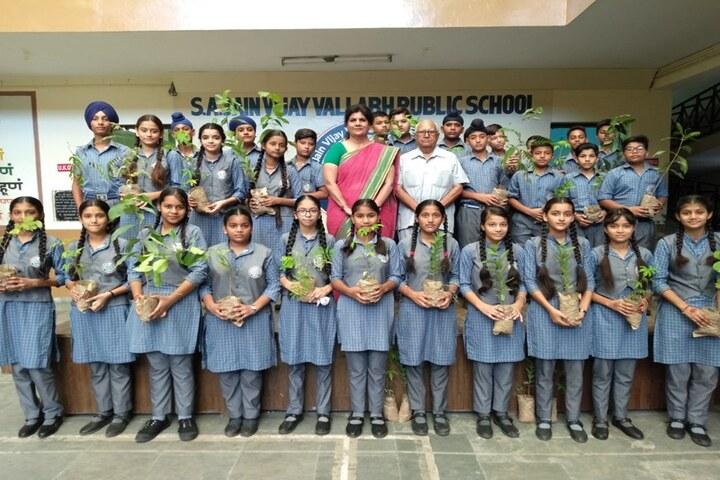 S A Jain Vijay Vallabh Public School-Environment Day