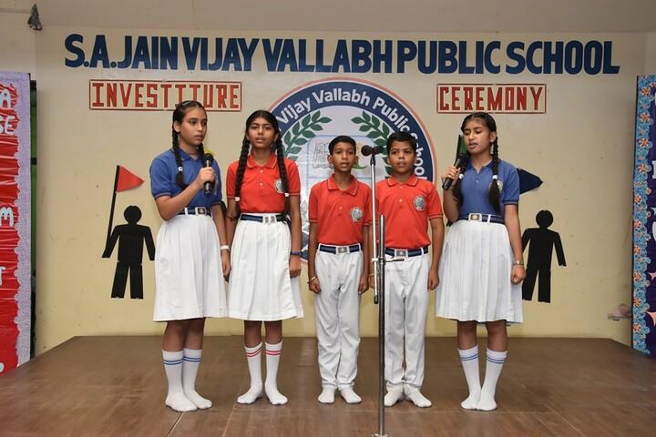 S A Jain Vijay Vallabh Public School-Investiture Ceremony