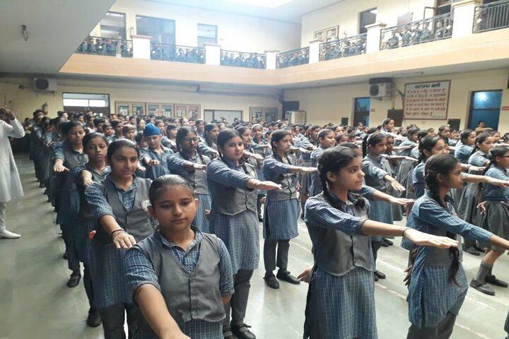 S A Jain Vijay Vallabh Public School-Morning Assembly