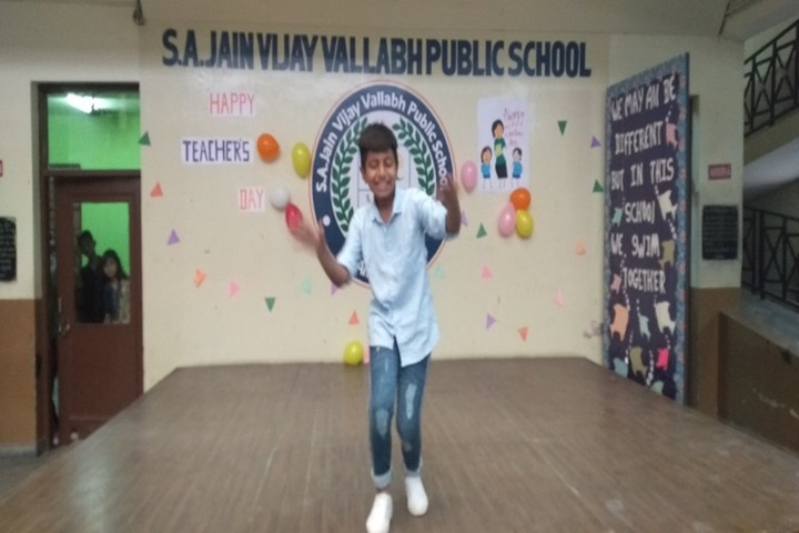 S A Jain Vijay Vallabh Public School-Teachers Day