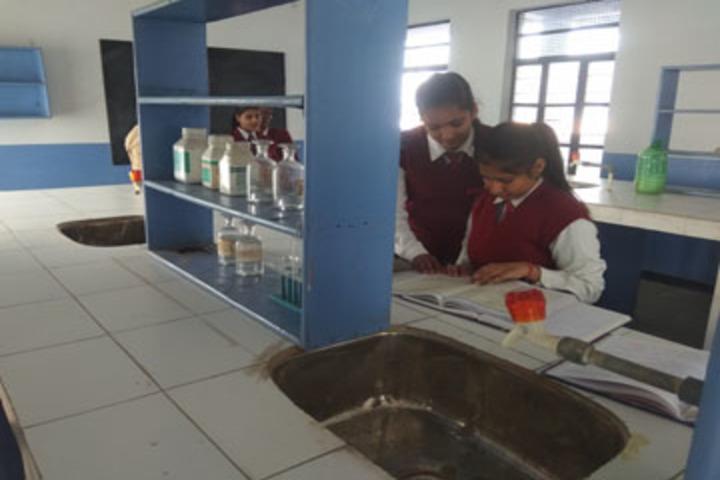 S B S Jovial Child Senior Secondary School-Chemistry Lab