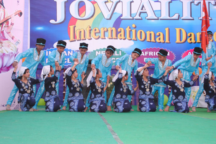 S B S Jovial Child Senior Secondary School-Dancing Activity