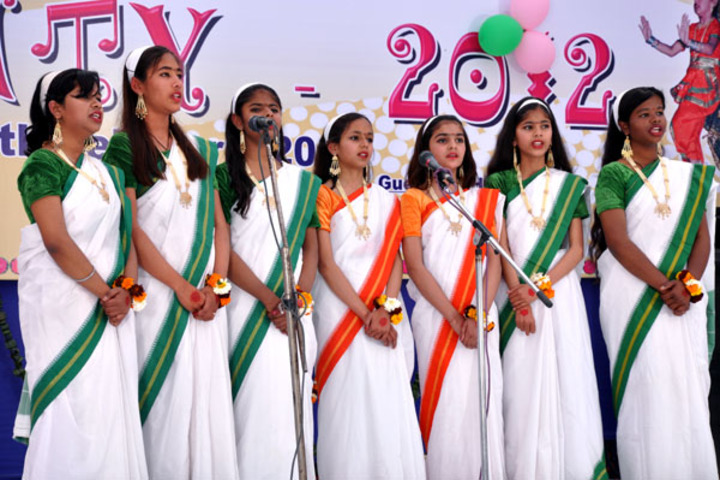 S B S Jovial Child Senior Secondary School-Independence Day