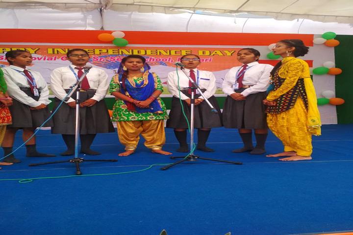 S B S Jovial Child Senior Secondary School-Music Activity