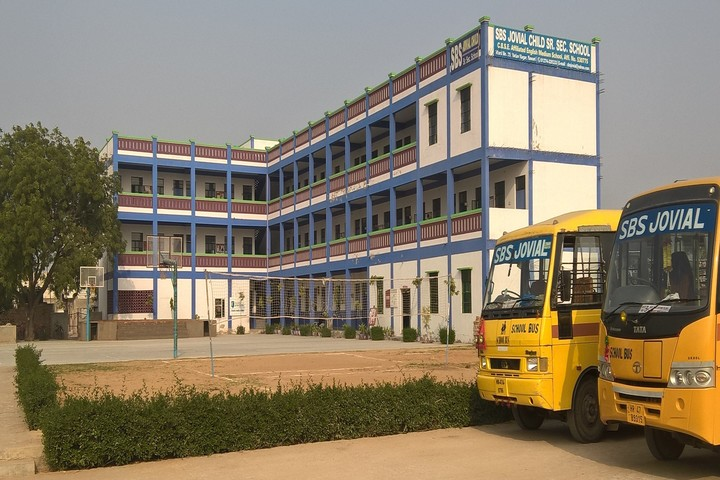 S B S Jovial Child Senior Secondary School-School Building
