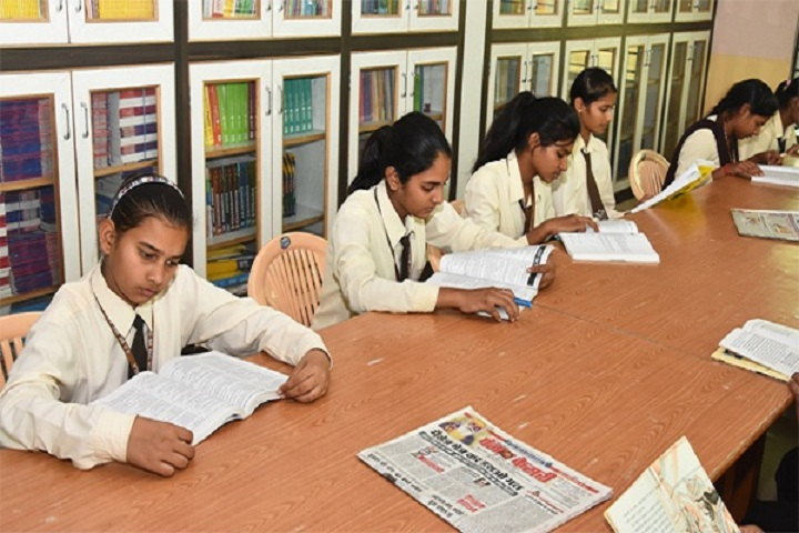 S D Senior Secondary School-Library