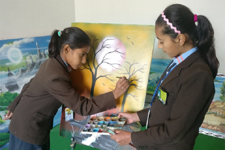 S D Senior Secondary School-Painting Competition