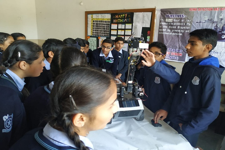 S D Senior Secondary School-Science Exhibition
