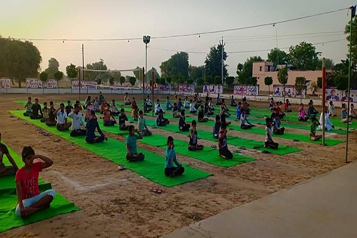 S D Senior Secondary School-Yoga