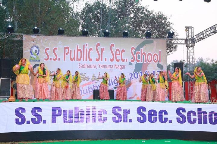 S S Public Senior Secondary School-Cultural Fest