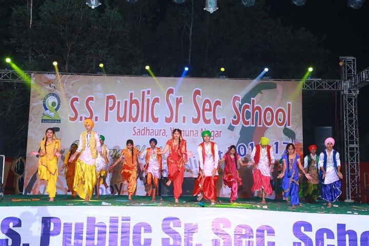 S S Public Senior Secondary School-Sports Day