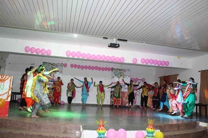S S International School-Dancing Activity