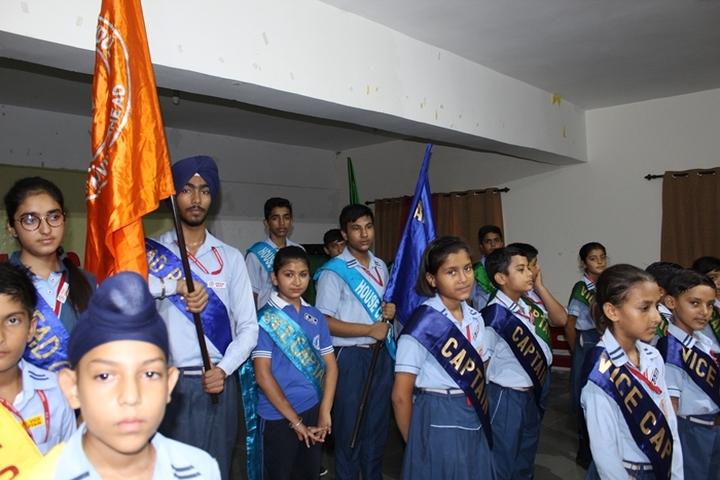 S S International School-Investiture Ceremony