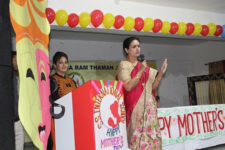 S S International School-Mothers Day Celebration
