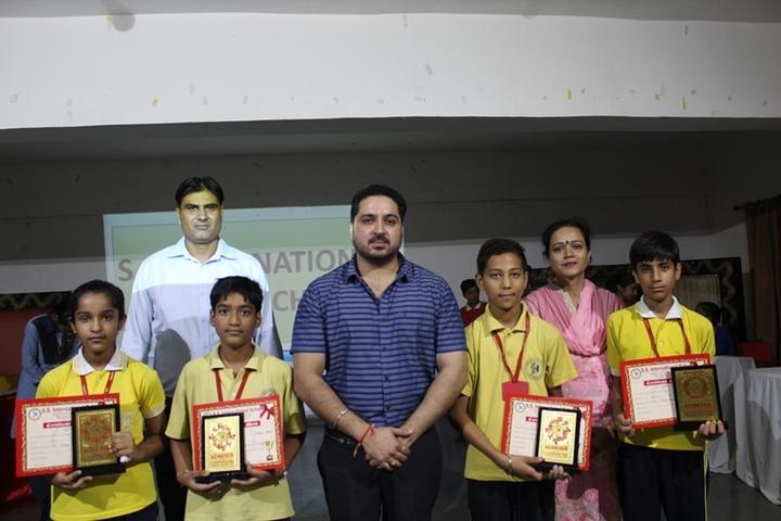S S International School-Quiz Competition